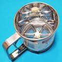 Кружка-сито Kamille 7783 KM d=10х10 см для просіювання муки з одинарним ситовим дном