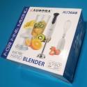 Блендер Aurora AU 3668 погружний 750W 2 швид чаша подрібн 0,6 л відчик турбо