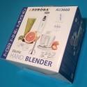 Блендер Aurora AU 3660 200-350 Wt 1 швидкість 2 насадки: блендер міксер подрібнювач чаша 600мл