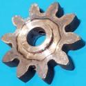 Шестерня для бетономішалки 15*63 h16 10 зубів