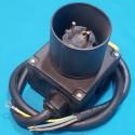 Кнопка бетономішалки в корпусі з вилкою 4 контакти 16A HCK3T