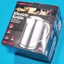 Електрочайник Kamille 1721 KM 1850-2200W 1,7л корпус нержавіюча сталь пласмасова ручка синя  підсвітка автовиключення