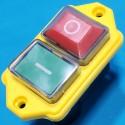 Кнопка бетономішалки 4 контакти 12A CK21 IP54 жовта