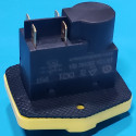 Кнопка бетономішалки 4 контакти 12A CK21 IP54 (пластина 56*60) жовта