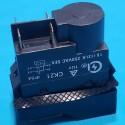 Кнопка бетономішалки 4 контакти 12A CK21 чорна