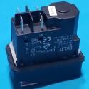 Кнопка бетономішалки 4 контакти 15А DKLD DZ-06 чорна