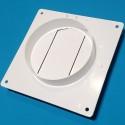 Фланець плоский з клапаном D/UZP d=104/110х55