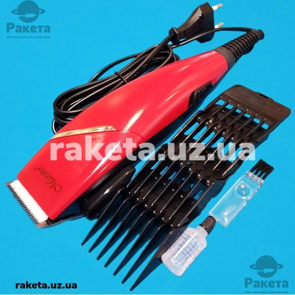 Машинка для стрижки Maestro MR 653С 15W 4 насадка керам ножі щітки для чист масло