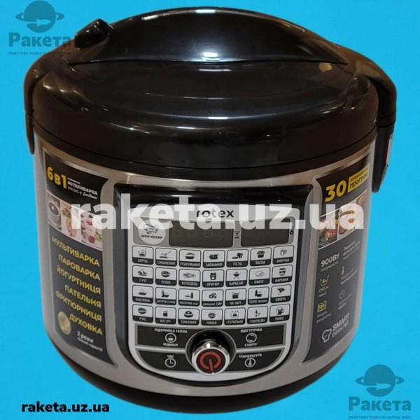 Мультиварка Rotex RMC505-B 900W 30 прогам чаша 5,0л атипригарне покриття LED Smart Cooking ПИВО ЧОРНА