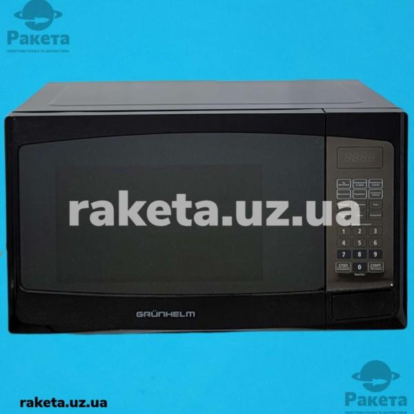 Мікрохвильова піч Grunhelm 23MX523-B чорна 23л 800W 11 рівнів потужності, електрон управління таймер 100 хв