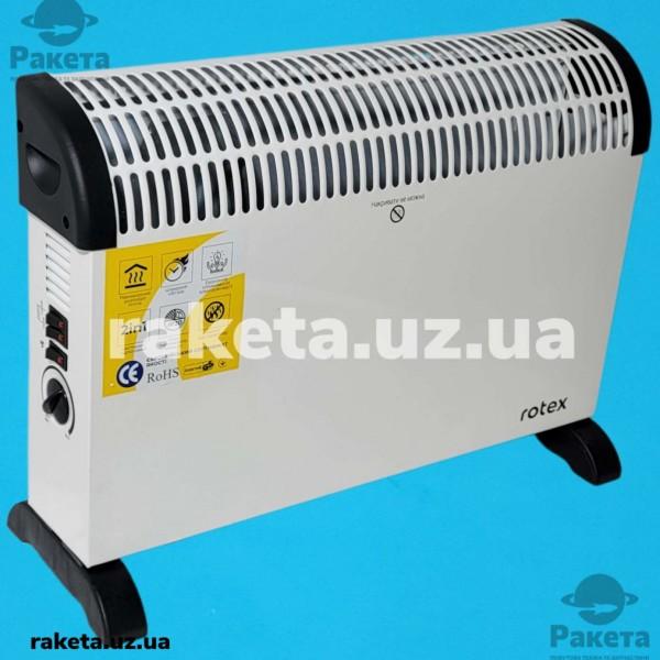 Конвектор Rotex RCX201-H 2000W режим індикатор мех терм режим ТУРБО устан СТІНА/ПІДЛОГА