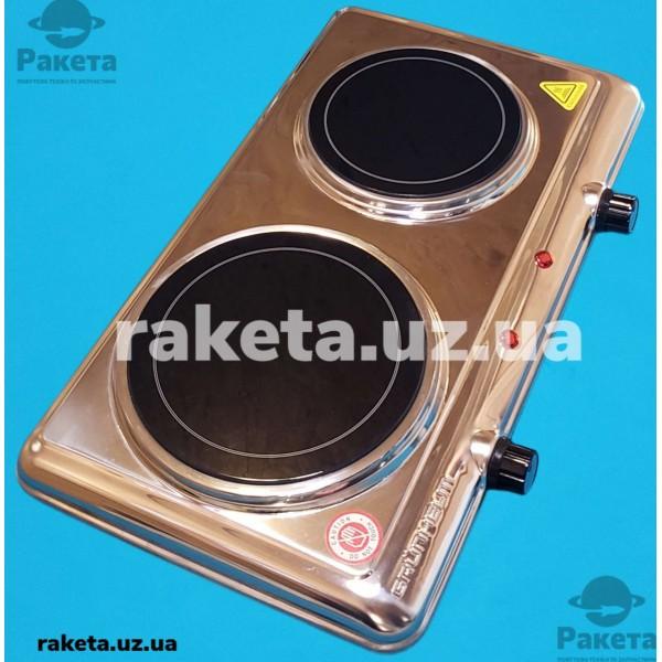 Електроплита дискова Grunhelm GHP-5844S склокераміка 2100 Wt 2-х камфорна