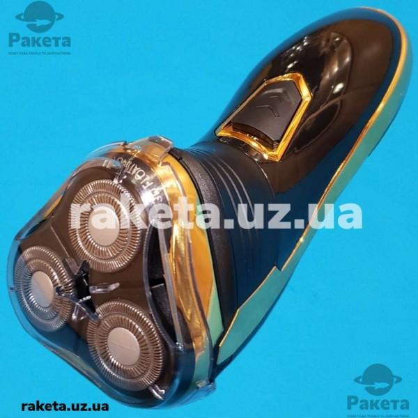 Електробритва Aurora AU 3545 акумулятор плаваюча головка подвійні леза 90хв тример шкіряний чохол