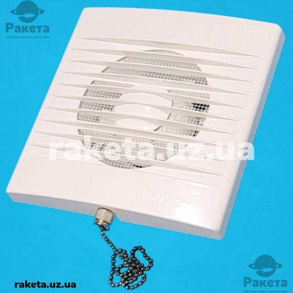 Вентилятор побутовий ZEFIR d=100 WP вилкою та ланцюжком