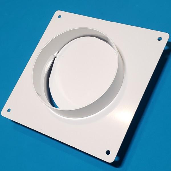 Фланець круглий з клапаном D/UOP d=100/104