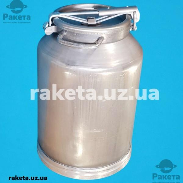 Бідон харчовий алюміній 40 л КАЛИТВА