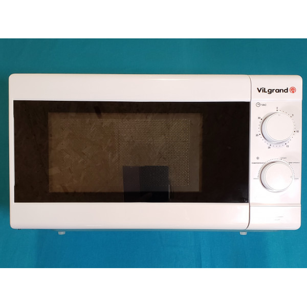 Мікрохвильова піч Vilgrand VMW-7202 об`єм 20л 700W механічне управління таймер розморозка