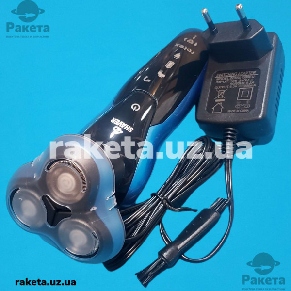 Електробритва бездротова Rotex RHC280-S 3 плаваючі головки