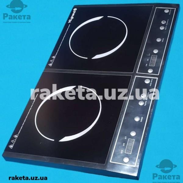 Індукційна плита Vilgrand VHP2082 2000W+1400W 2-х камфорна склокераміка автовикл 59*36*6.5 см
