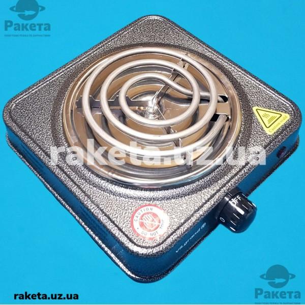 Плита електрична Vilgrand VHP131 Gray 1000W 1-но камфорна ПРОСТА елемент d=130 мм СІРА