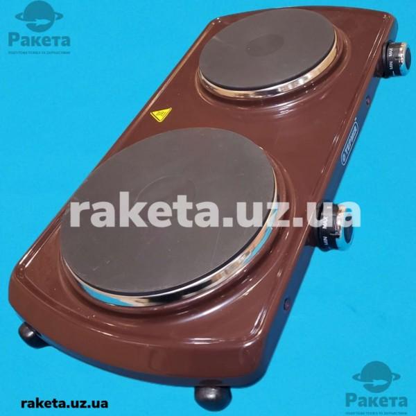 Електро плита настільна Термія блин 2-2.2/220 М2 2 камфорна коричнева
