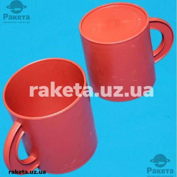 Чашка для чаю червона МЕД