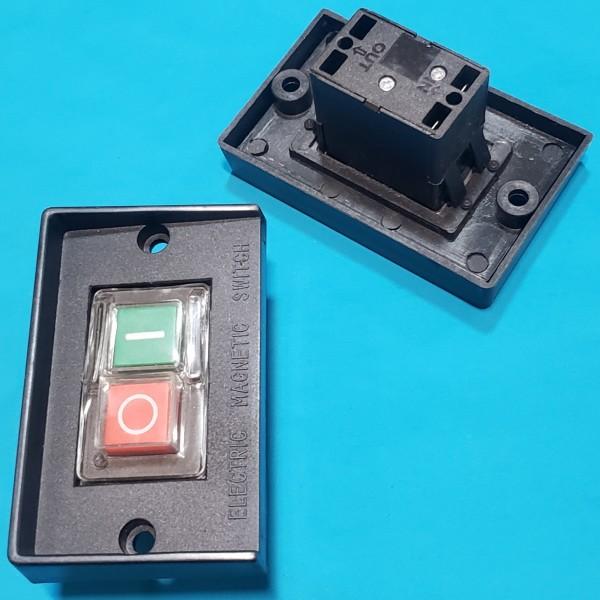Кнопка бетономішалки 4 контакти 6А  CK-1 пластина з буртом 60*95 мм