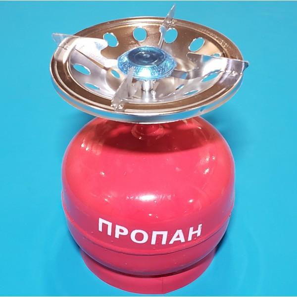 Газовий балон+плита ТУРИСТ 5л