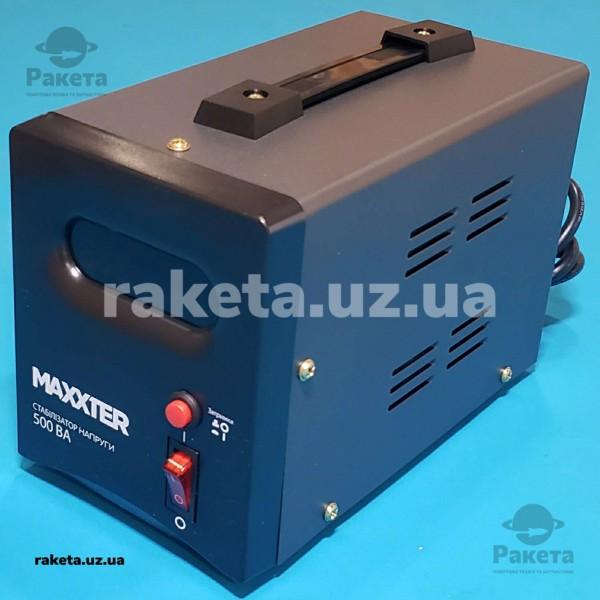 Стабілізатор напруги Maxxter MX-AVR-S500-01 релейний тип 500 VA