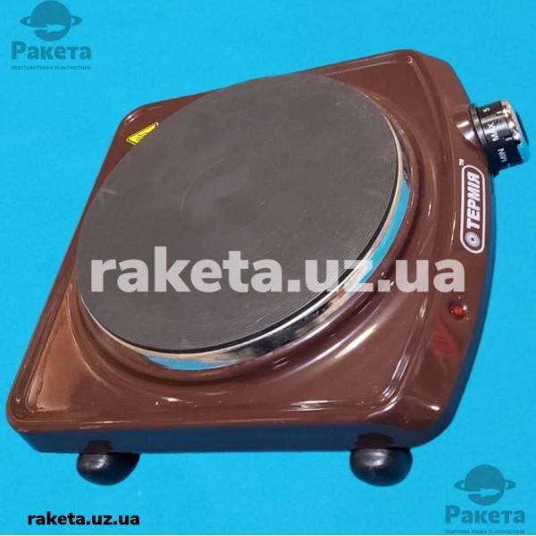 Електро плита настільна Термія блин 1-1,5/220 М2 1 камфорна коричнева