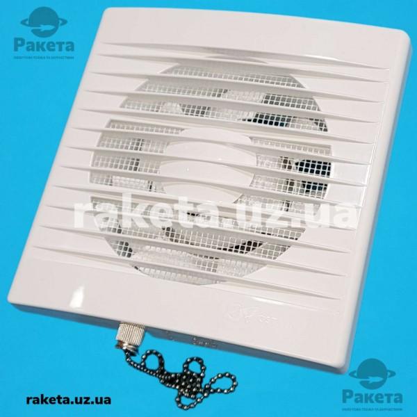 Вентилятор побутовий ZEFIR d=120 WP простий з вилкою та ланцюжком