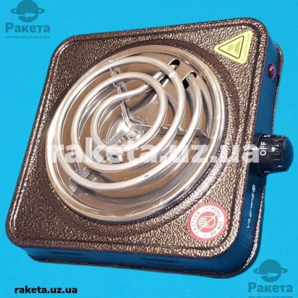 Плита електрична Vilgrand VHP131 Brown 1000W 1-но камфорна ПРОСТА елемент d=130 мм КОРИЧНЕВА