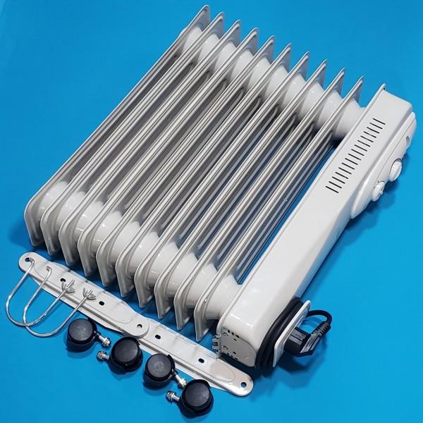 Масляний радіатор Maestro MR 951-11 800/1200/2000W 11 ребер термостат індикат роботи захист від перегріву