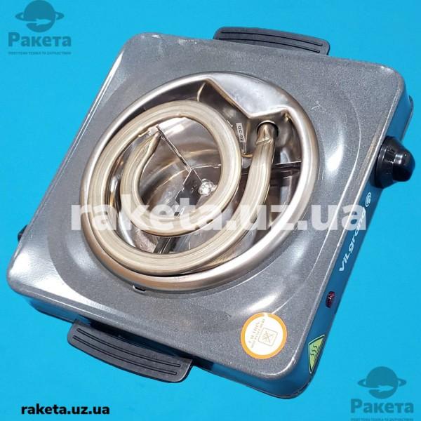 Плита електрична Vilgrand VHP141D Gray 1000W 1-х камфорна ШИРОКИЙ ТЕН 1 елемент d=155 мм СІРА