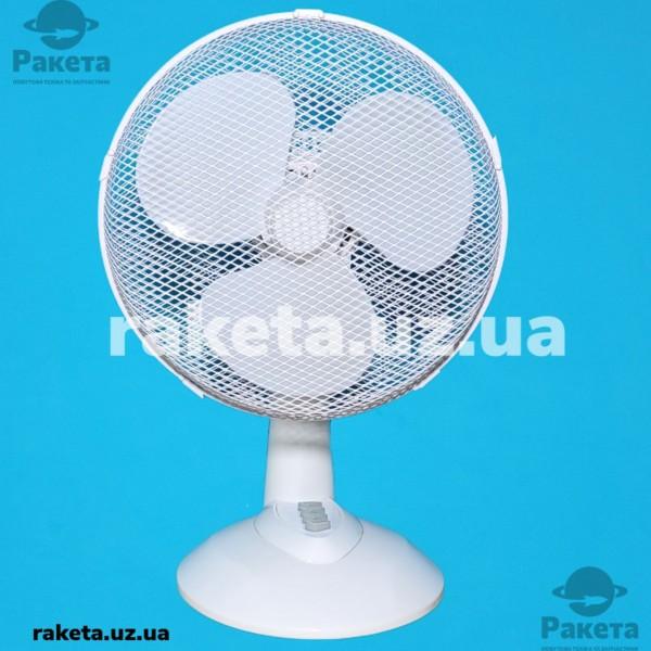 Вентилятор настільний Maestro 904 MR 50W 2 швидкості, діаметр 30см кут повороту 90 регулювання нахилу