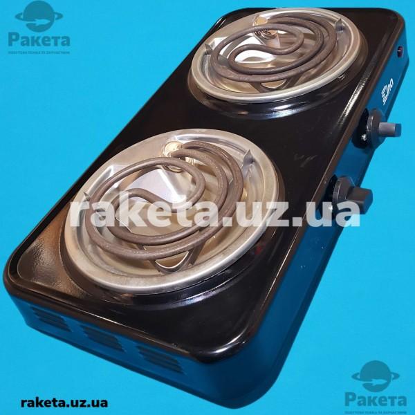 Електро плита настільна ЕЛНА 2 камфорна проста піддон нержавійка