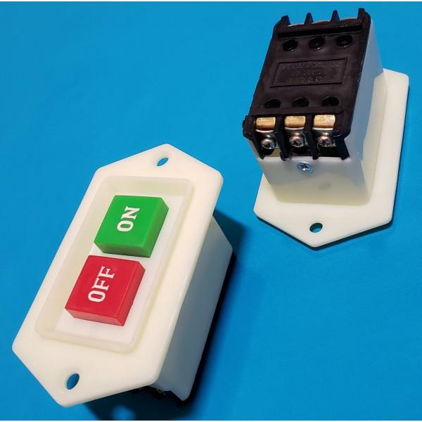 Кнопка бетономішалки 6 контактів 5А LC3 AC.380