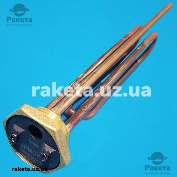 Тен бойлера 2000W різьблення 5/4 з портом 6 мм Termowatt ІТАЛІЯ зігнутий