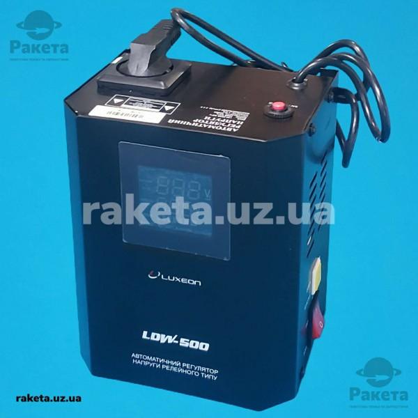 Стабілізатор напруги LUXEON LDW-500D чорний