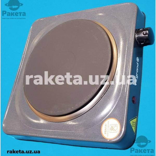 Плита електрична Vilgrand VHP171F Gray 1500W 1-но камфорна БЛИН елемент d=185 мм СІРА