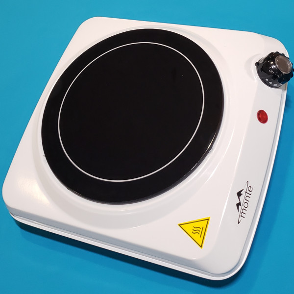Електро плита настільна інфрачервона MONTE 2107 1800Вт 1 камф корпус емаль