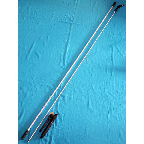 Телескопічна трубка алюмінієва Леміра УТОС 3,3м