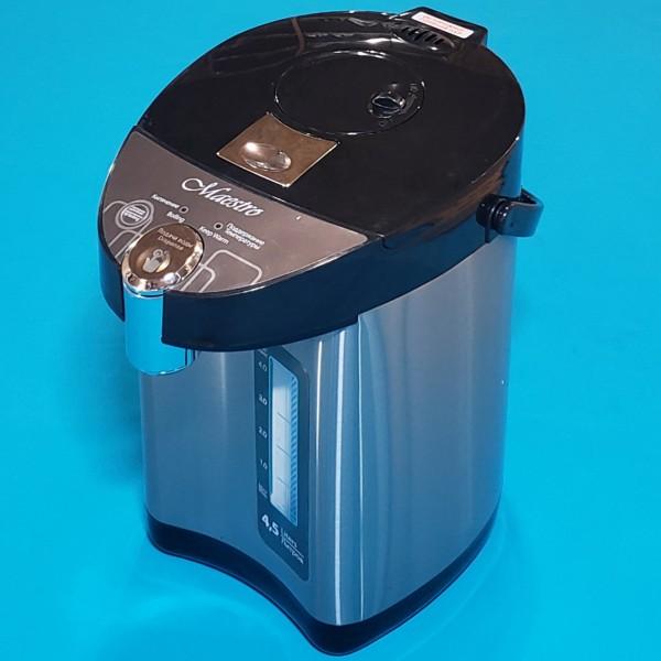 Термопот Maestro MR-081 750W 4,5 л нержавіюча сталь 3 способ подачі води індикатор рівня води