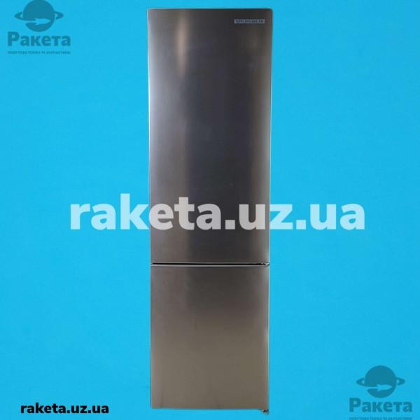 Холодильник Grunhelm GNC-200MX нержавіюча сталь 2-х камерний нижня камера NO Frost 2010х595х630 245/76