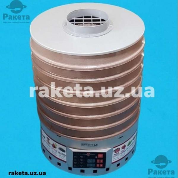 Електросушарка для овочів та фруктів PROFIT М ЕПС-2 Е сіра 20л електронне управління