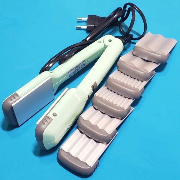 Щипци для волосся Maestro MR-250 30W 3 насад індик роботи