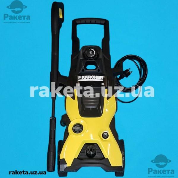 Мийки високого тиску KARCHER K5 потужність 2100 Wt макс тиск 145 бар 500л/год продуктив 40 кв м/год вага 13.3 кг