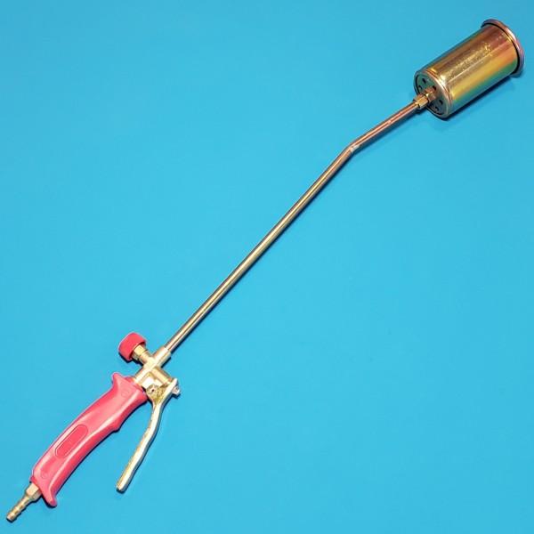 Пальник газовий Intertool - 60х715мм з клапаном
