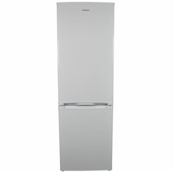 Холодильник Grunhelm GRW-185DD білий 2-х камерний нижня камера КАПЕЛЬНА 1850х600х605 223/89