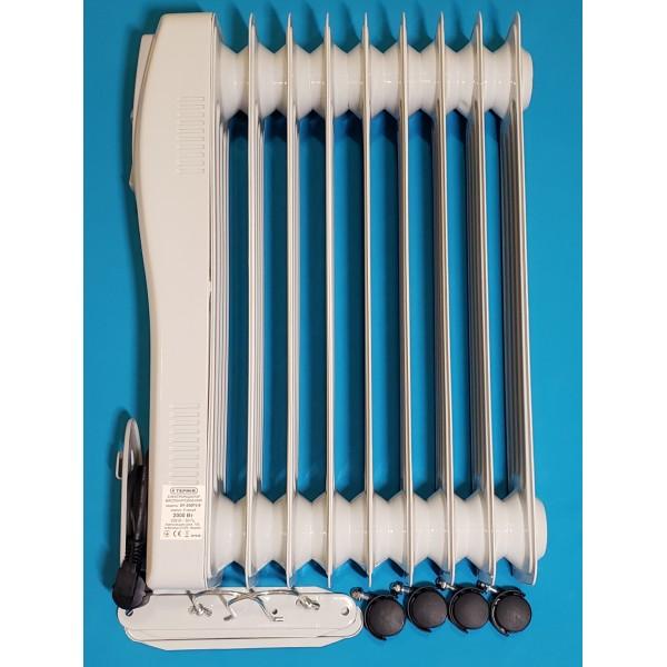 Масляний радіатор Термія DF-200P3-9 9 секцій без вентилятора 2 кВт